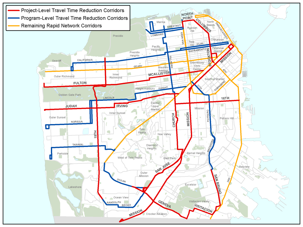 Transit Planning for the future of San Francisco San Francisco